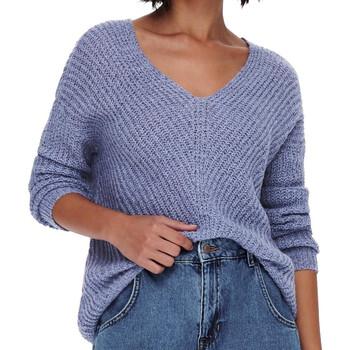 Textil Mulher camisolas Jacqueline De Yong  Violeta