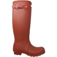 Sapatos Mulher Botas Hunter  Rojo