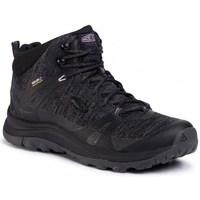 Sapatos Mulher Sapatos de caminhada Keen Terradora II Mid WP Preto