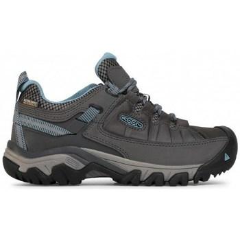 Sapatos Mulher Sapatos de caminhada Keen Targhee Iii WP Cinzento