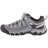 Sapatos Mulher Sapatos de caminhada Keen Targhe Iii WP Cinzento