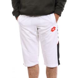 Textil Homem Shorts / Bermudas Lotto  Branco