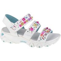 Sapatos Mulher Sandálias desportivas Skechers D'Lites 2.0-Studded Wayz Blanc
