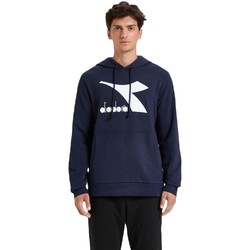 Textil Homem Sweats Diadora Big Logo Azul