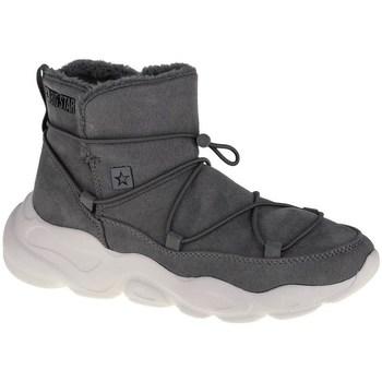 Sapatos Mulher Sapatilhas de cano-alto Big Star II274264 Cinzento
