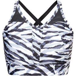 Textil Mulher Tops e soutiens de desporto Dare 2b  Zebra preto/branco