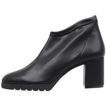 Sapatos Mulher Botas baixas Sandra Fontan  Preto