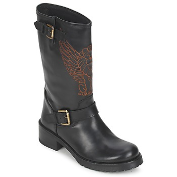Sapatos Mulher Botas baixas Pastelle ANGEL Preto