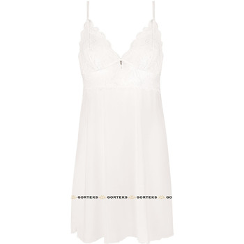 Textil Mulher Pijamas / Camisas de dormir Gorteks CHARLIZE/K cream Bege