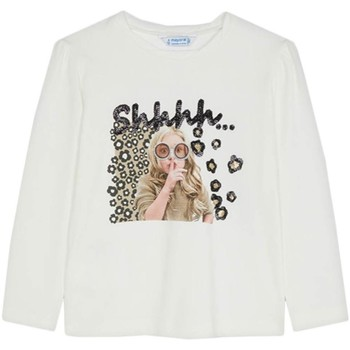 Textil Rapaz T-shirts e Pólos Mayoral  Blanco