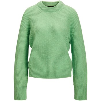 Textil Mulher camisolas Jack & Jones Pull à manches longues femme  ember solid absinthe green