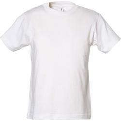 Textil Rapaz T-Shirt mangas curtas Tee Jays TJ1100B Branco