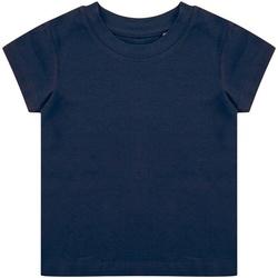 Textil Mulher T-Shirt mangas curtas Larkwood LW620 Marinha