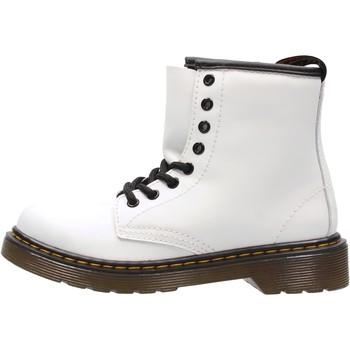 Sapatos Rapaz Sapatilhas Dr Martens - Anfibio bianco  calz bimbo 1460 J ROMARIO