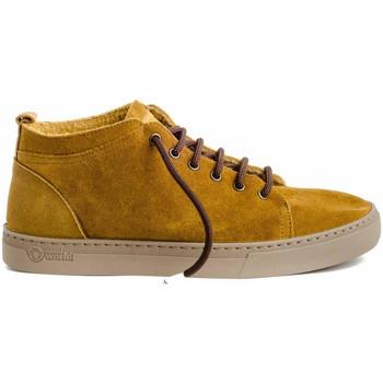 Sapatos Homem Botas baixas Natural World 6721 Amarelo