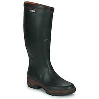 Sapatos Homem Botas de borracha Aigle PARCOURS 2 Verde