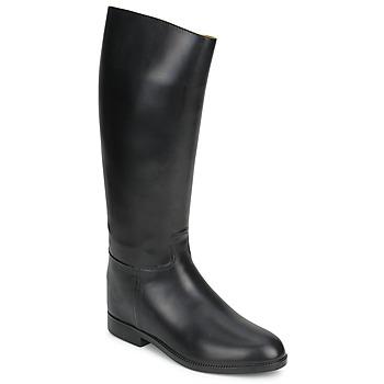 Sapatos Mulher Botas Aigle ECUYER M Preto