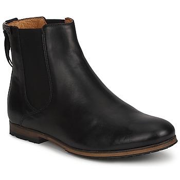 Sapatos Mulher Botas baixas Aigle MONTAIGU Preto