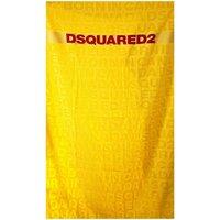 Casa Mulher Toalha de praia Dsquared D7P001920 Amarelo