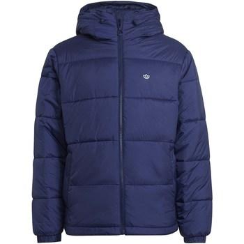 Textil Homem Casacos  adidas Originals Pad Hooded Puff Azul marinho
