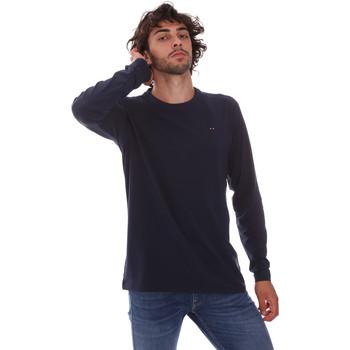 Textil Homem T-shirt mangas compridas Key Up 2E96B 0001 Azul