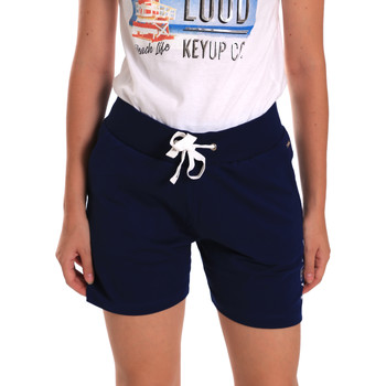 Textil Mulher Shorts / Bermudas Key Up 5G38L 0001 Azul