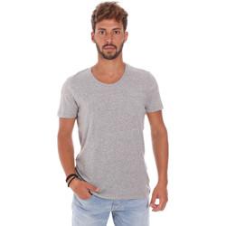 Textil Homem T-Shirt mangas curtas Antony Morato MMKS01003 FA100092 Cinzento