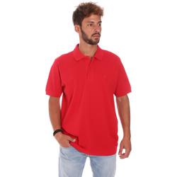 Textil Homem Polos mangas curta Key Up 2800Q 0001 Vermelho