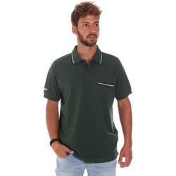 Textil Homem Polos mangas curta Key Up 2Q827 0001 Verde