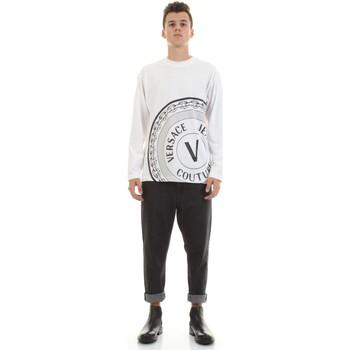 Textil Homem Camisas mangas comprida Versace Jeans Couture 71GAHT20-CJ00T Branco