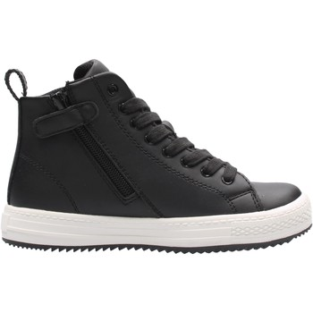 Sapatos Rapaz Sapatilhas de cano-alto Bikkembergs - Polacchino nero K3B4-20733 NERO