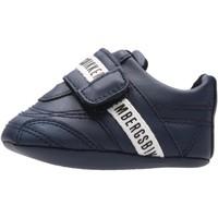 Sapatos Rapaz Pantufas bebé Bikkembergs - Sneaker blu K0B4-20728 BLU