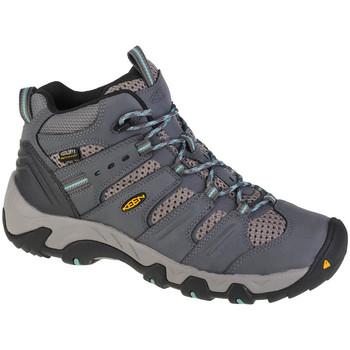 Sapatos Mulher Sapatos de caminhada Keen Koven Mid WP Grise
