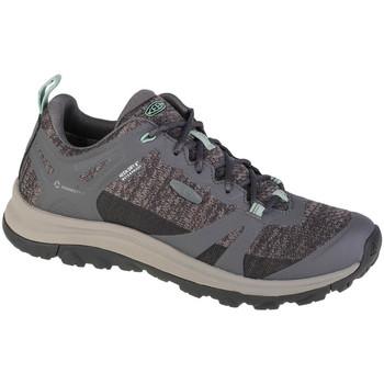 Sapatos Mulher Sapatos de caminhada Keen Terradora II WP Grise