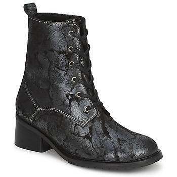 Sapatos Mulher Botas baixas Tiggers ROMA Preto