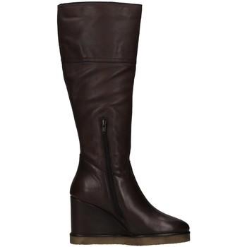 Sapatos Mulher Botas Café Noir C1GC1240 Castanho
