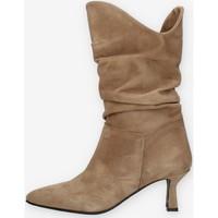 Sapatos Mulher Botas Made In Italia DALIACAM Bege