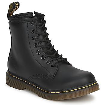 Sapatos Criança Botas baixas Dr Martens DM J BOOT Preto