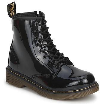 Sapatos Rapariga Botas baixas Dr Martens DELANEY Preto