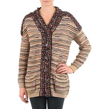 Textil Mulher Casacos de malha Antik Batik WAYNE Bege