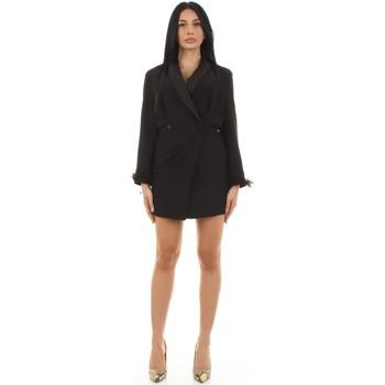 Textil Mulher Vestidos curtos Vicolo TX0972 Preto