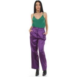 Textil Mulher Calças Vicolo TX0372 Violeta