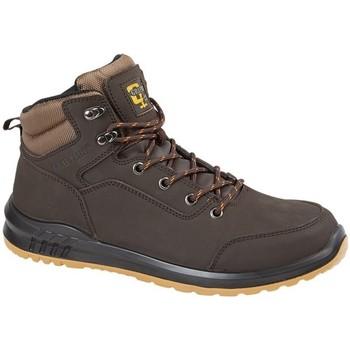 Sapatos Homem Sapatos de caminhada Grafters  Brown