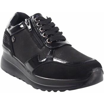Sapatos Mulher Sapatilhas Amarpies Zapato señora  20315 ast negro Preto