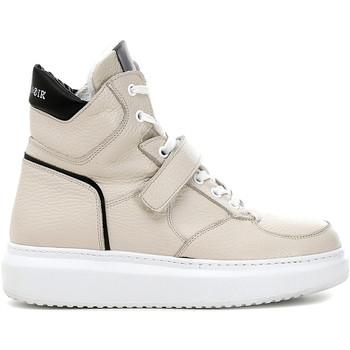 Sapatos Mulher Sapatilhas de cano-alto Café Noir DE1311 Bege