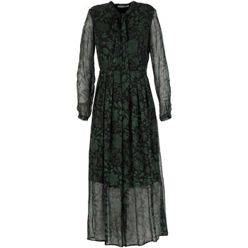 Textil Mulher Vestidos compridos Café Noir JA0007 Verde
