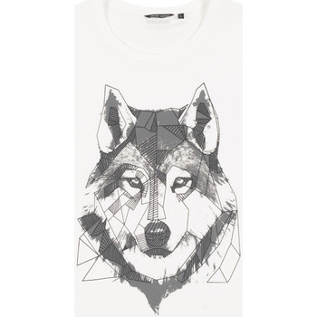 Textil Homem T-Shirt mangas curtas Antony Morato MMKS02072 FA100144 Branco