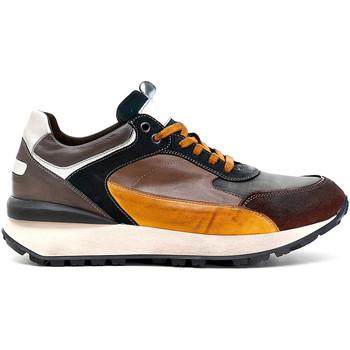 Sapatos Homem Sapatilhas Café Noir PB6220 Castanho