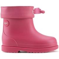 Sapatos Criança Botas de borracha IGOR Galochas Bebé Bimbi Euri Framboesa Rosa