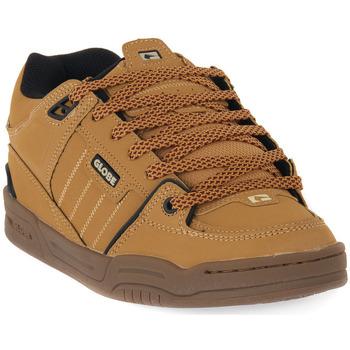 Sapatos Homem Sapatos estilo skate Globe FUSION GOLDEN BROWN Marrone